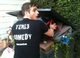 Ten13 is taking out the garbage!