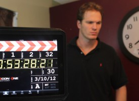 Kyle on the set of RedCon One