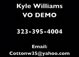 Kyle Williams Character VO Demo Reel