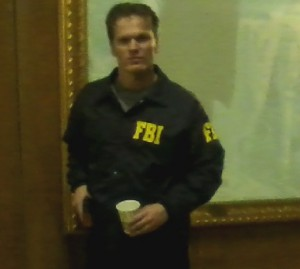 KYLE AS AN FBI AGENT FOR HOTEL CONFIDENTIAL ON TRAVEL CHANNEL