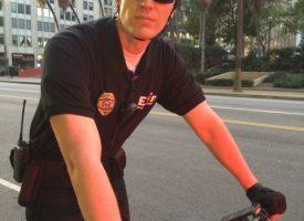 Kyle as Bike Cop